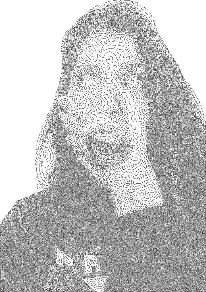 Una foto trasformata in Arte TSP